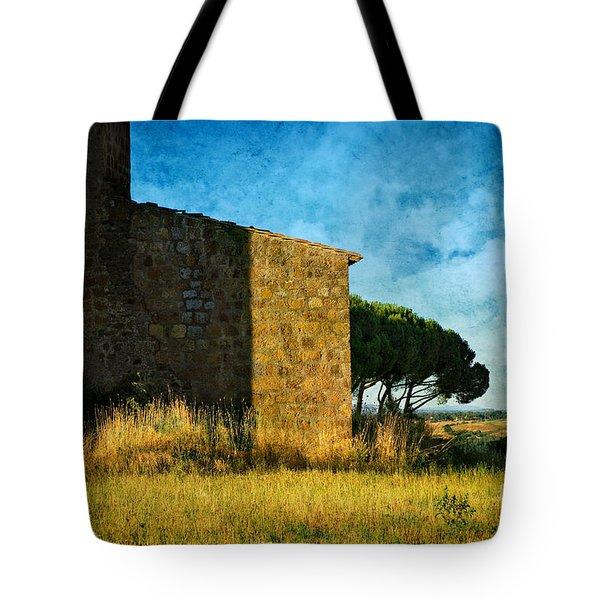 Ancient Church - Italy Tote Bag