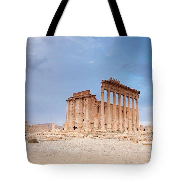 Ancient City Of Palmyra Ruins Again Tote Bag