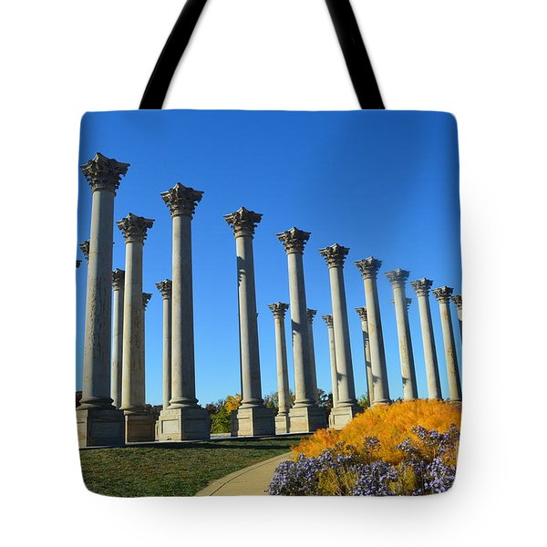 Ancient Corinthian Columns  Tote Bag