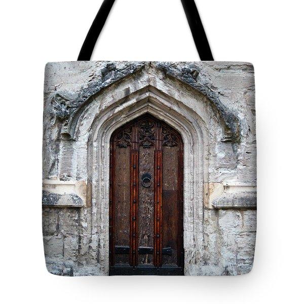 Ancient Door Tote Bag by Douglas Barnett