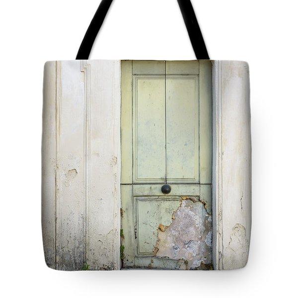 Ancient Door Rome Italy Tote Bag