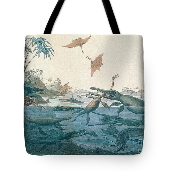 Ancient Dorset Tote Bag by Henry Thomas De La Beche
