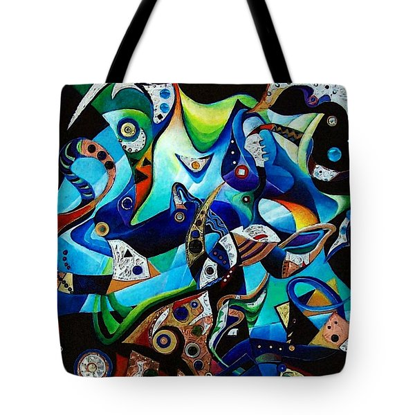 Ancient Echoes Tote Bag by Wolfgang Schweizer