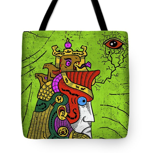 Tote Bag featuring the digital art Ancient Egypt Pharaoh by Sotuland Art