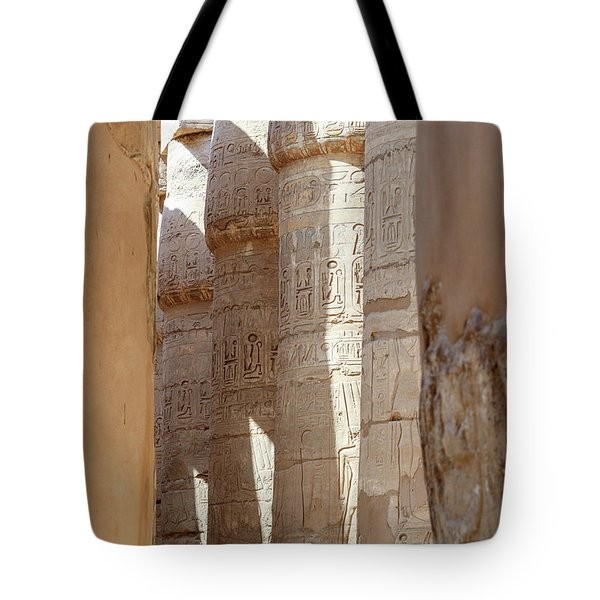 Tote Bag featuring the photograph Ancient Egypt by Silvia Bruno