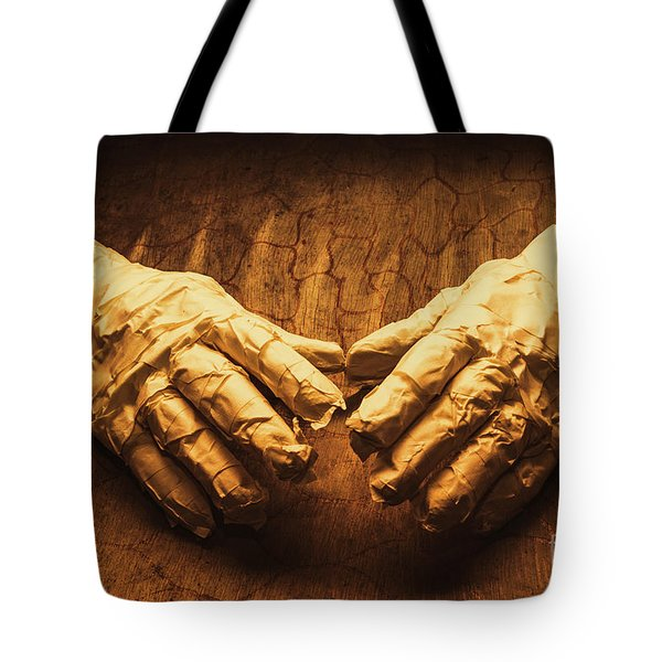Ancient Egyptian Horror Tote Bag