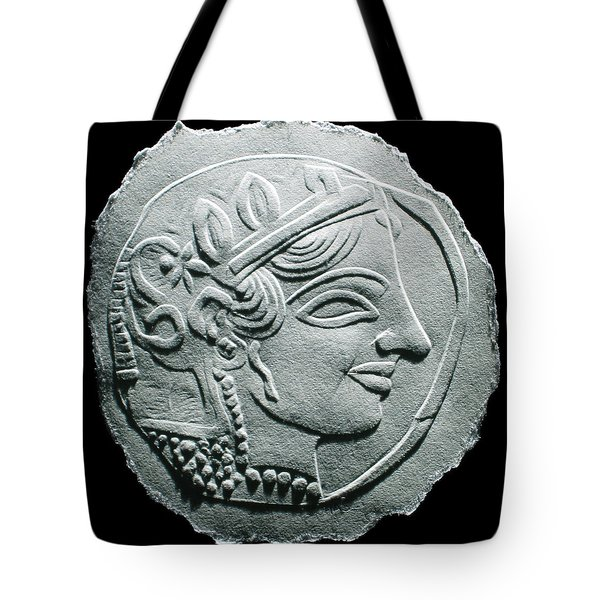 Ancient Greek Relief Seal Drawing Tote Bag