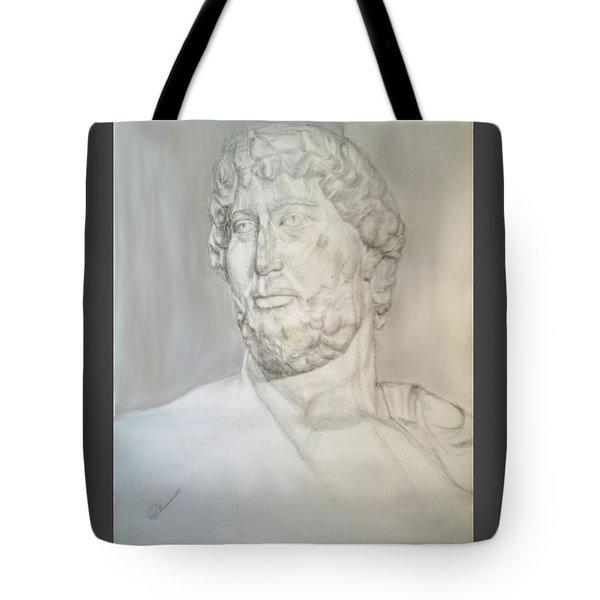 Ancient Greek Statue Tote Bag