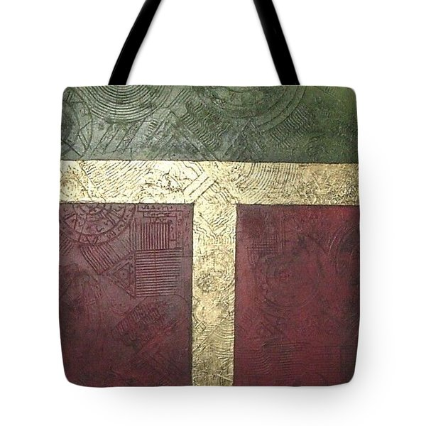 Ancient Hieroglyphics Tote Bag by Bernard Goodman