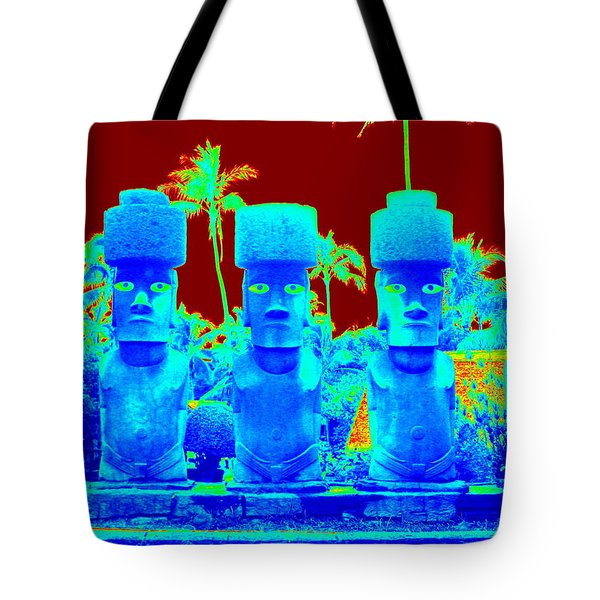 Ancient Idols Tote Bag