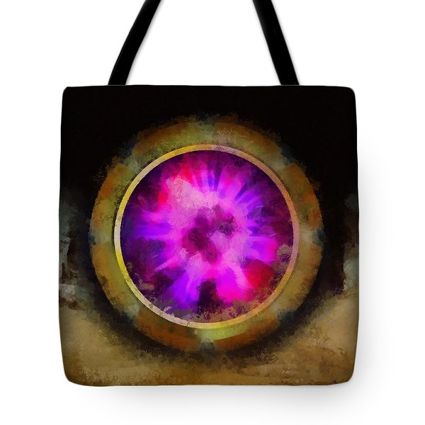 Ancient Mystical Mirror Of The Soul Tote Bag