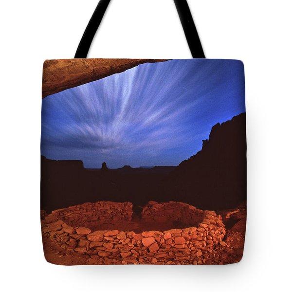Ancient Night Tote Bag