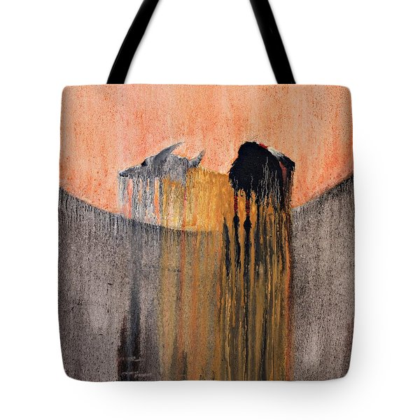 Ancient Paryer Tote Bag by Patrick Trotter