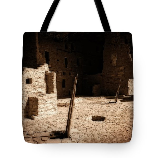 Tote Bag featuring the photograph Ancient Sanctuary by Kurt Van Wagner