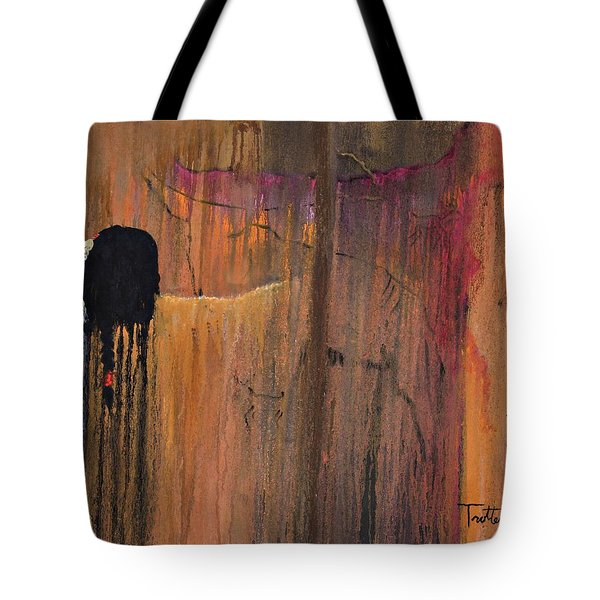 Ancient Scripture Tote Bag by Patrick Trotter