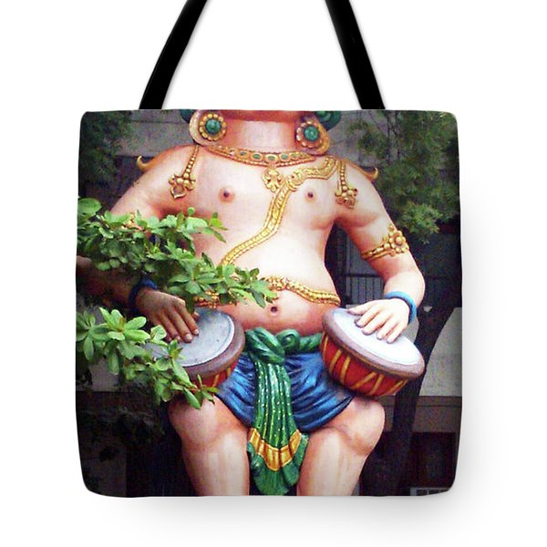 Ancient Security Tote Bag by Ragunath Venkatraman