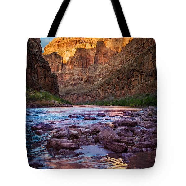 Ancient Shore Tote Bag by Inge Johnsson