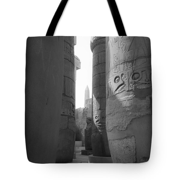 Tote Bag featuring the photograph Ancient Silence by Silvia Bruno