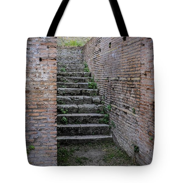 Ancient Stairs Rome Italy Tote Bag