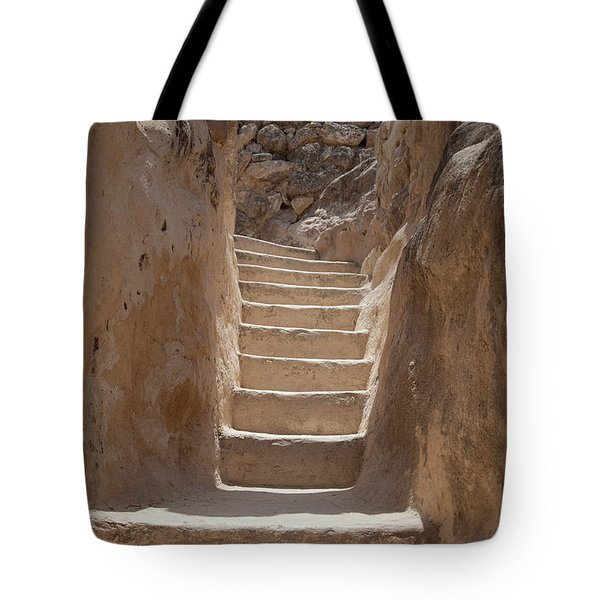 Ancient Stairs Tote Bag