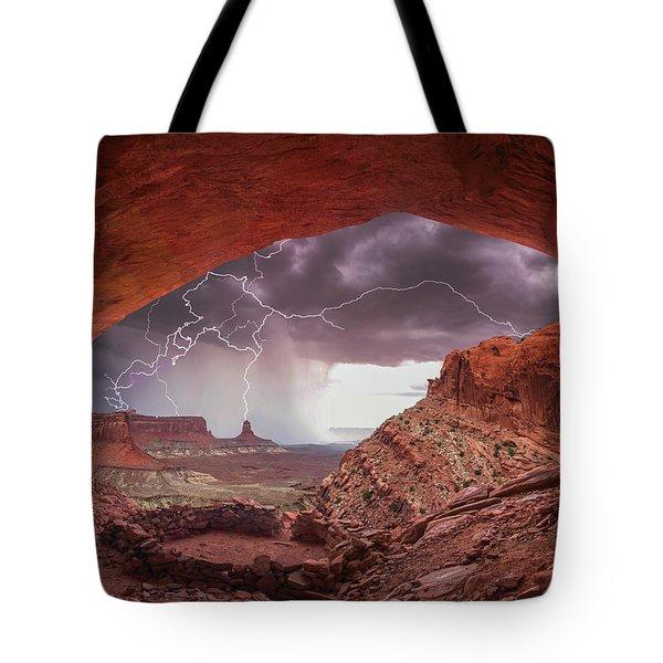 Ancient Storm 2 Tote Bag