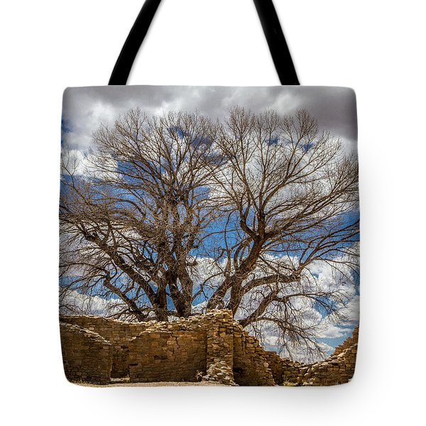 Tote Bag featuring the photograph Ancient Tree by Ron Pate
