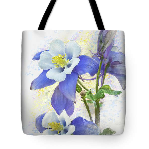 Ancolie Tote Bag