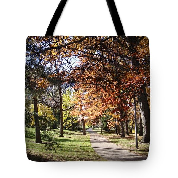 And Again Tote Bag