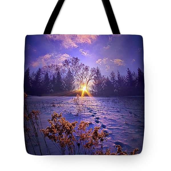 Tote Bag featuring the photograph And Back Again by Phil Koch