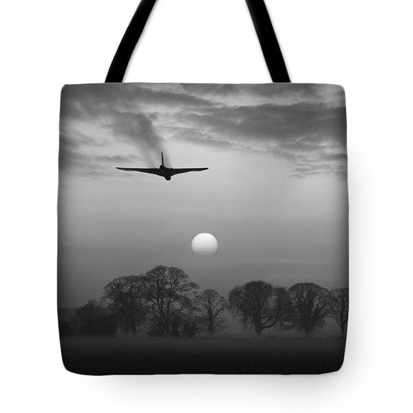 And Finally Black And White Version Tote Bag