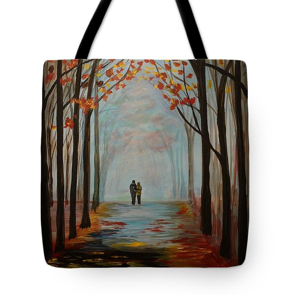 And I Love You So Tote Bag by Leslie Allen
