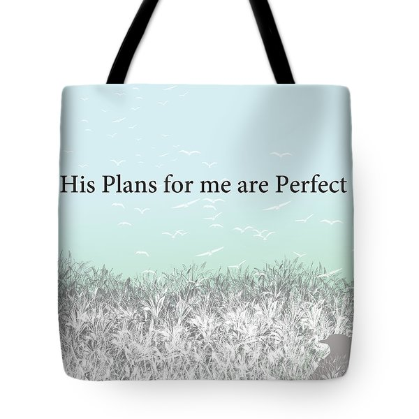 And I Wait Tote Bag by Trilby Cole