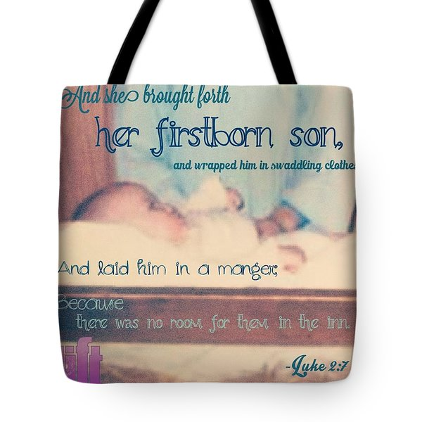 And It Came To Pass In Those Days, That Tote Bag
