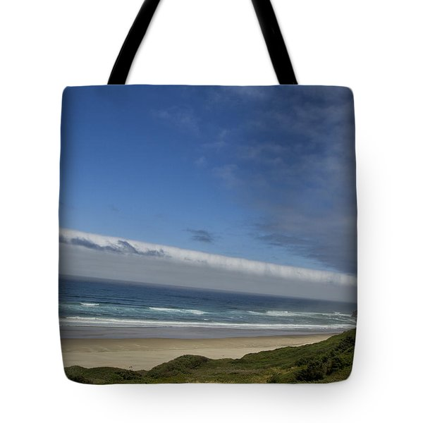 Tote Bag featuring the photograph And Miles To Go  by Tom Kelly