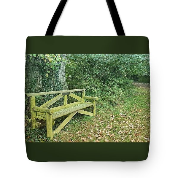 Woodland Seat Tote Bag