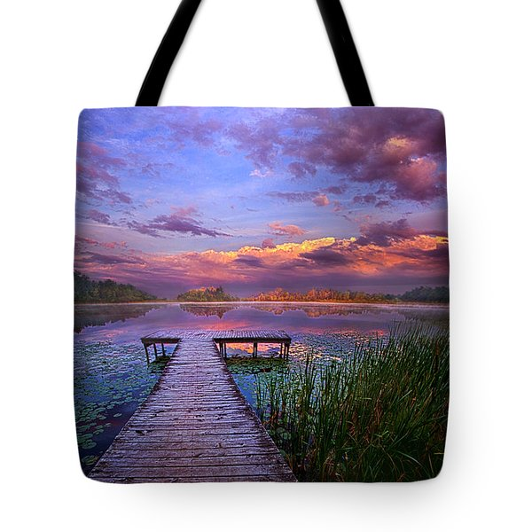 And Silence Tote Bag