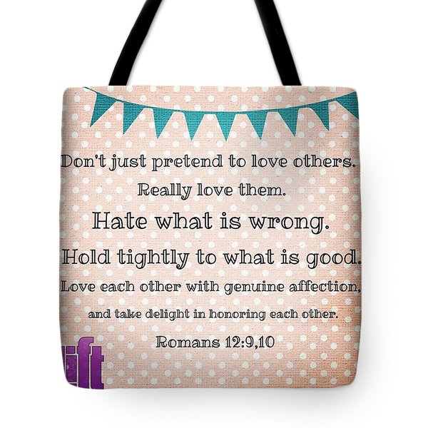 And So, Dear Brothers And Sisters, I Tote Bag