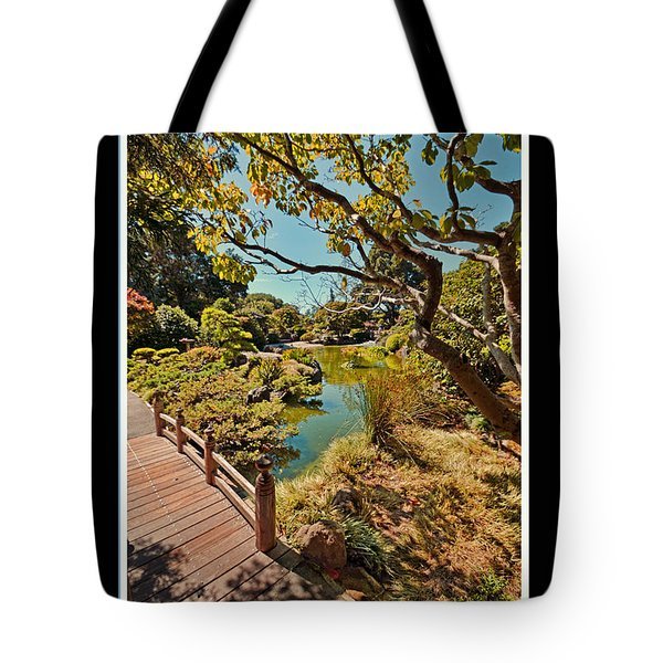 And So In This Moment With Sunlight Above Tote Bag
