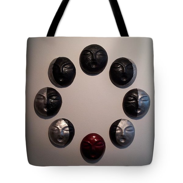 And So It Begins Again And Again And Again Tote Bag by Kristen R Kennedy
