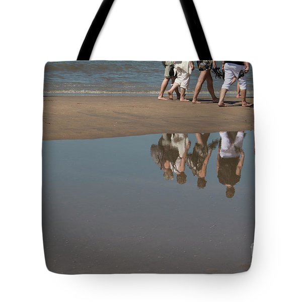 Tote Bag featuring the photograph And So They Followed by Ana Mireles