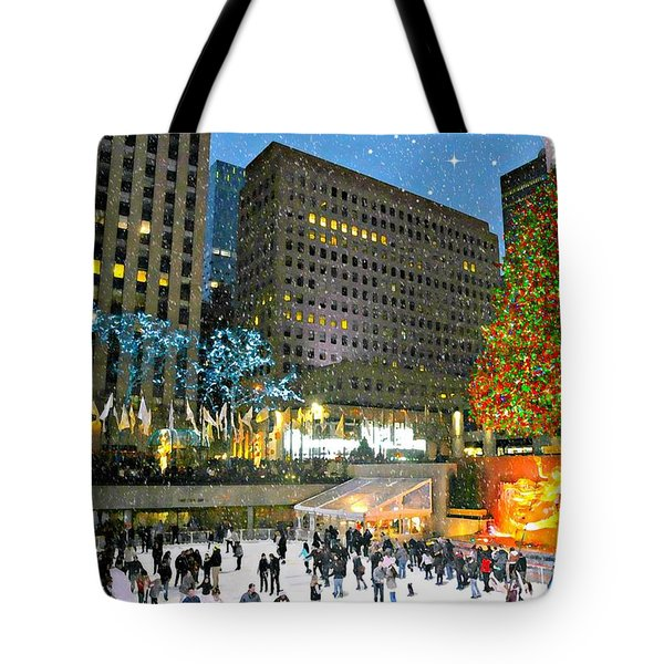 And So This Is Christmas Tote Bag