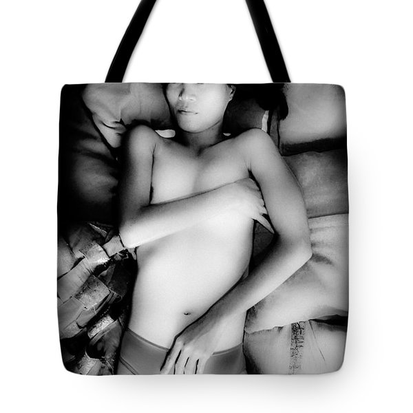 Tote Bag featuring the photograph And The Dream Becomes Reality For Me by Jez C Self