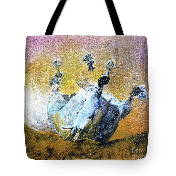 And The Fall Is Flight I Tote Bag