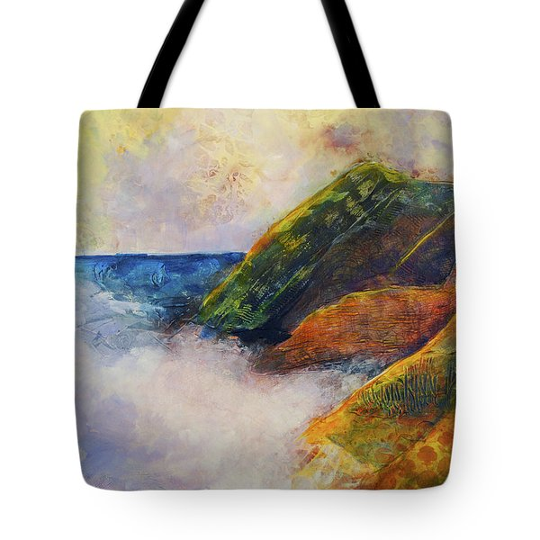 And The Fog Rolls In Tote Bag