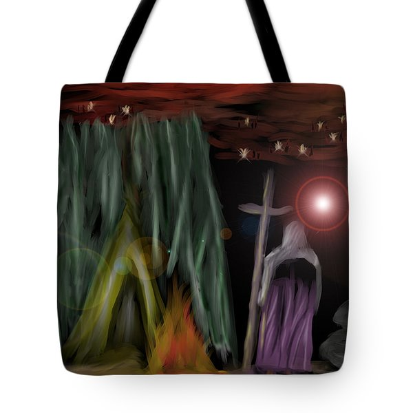 And The Fourth Angel Sounded Tote Bag