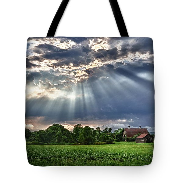 And The Heavens Opened 1 Tote Bag