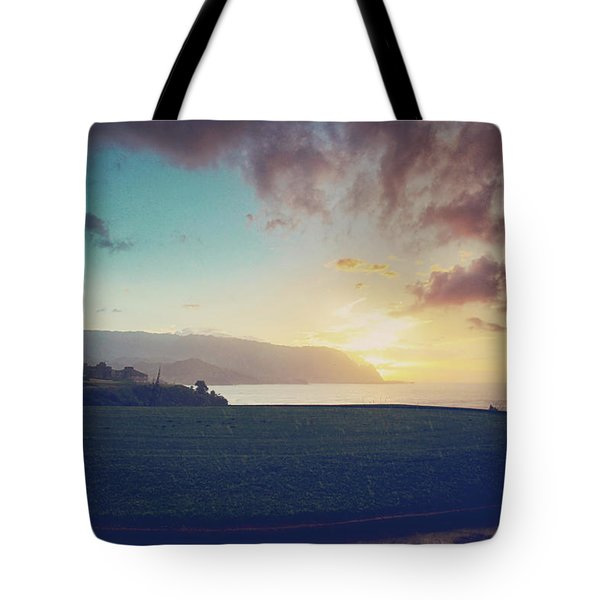 And The Rain Came Tote Bag