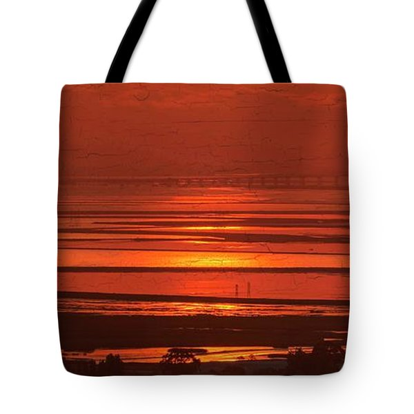 Tote Bag featuring the photograph And The Sea May Look Warm To You Babe by Peter Thoeny