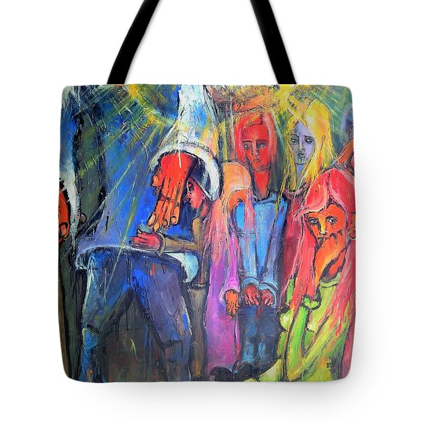 And, The Sun Always Rises Tote Bag