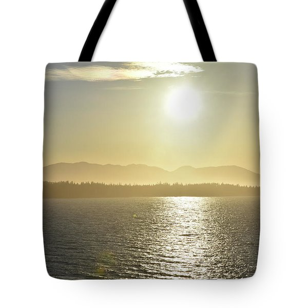 And The Sun Goes Down Tote Bag
